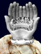 White The last Supper Statue - Religious Gift Ornament